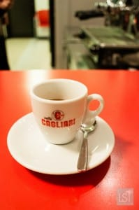 Coffee in Italy at Cagliari's, Modena