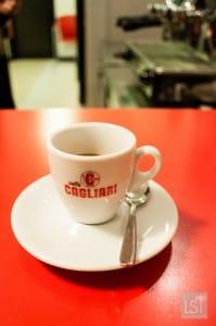 Coffee in Italy at Cagliari's, Modena