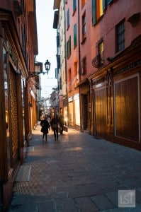 The Quadrilatero area of Bologna is a great place to find traditional food in Italy