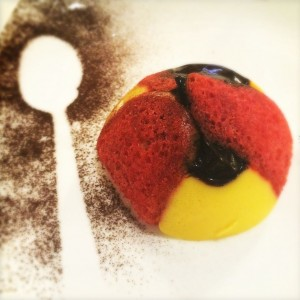 Food in Italy - English Soup - a dessert made with grappa