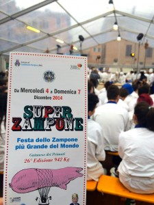 Food in Italy - ready for the Super Zampone festival in Modena