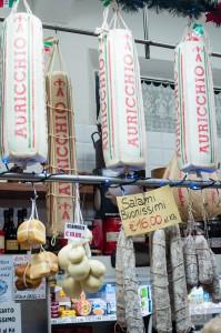 Cheeses at the Mercato Albinelli, Modena