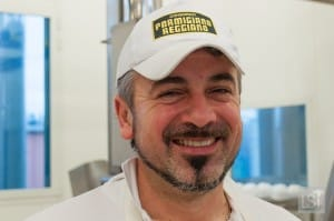Cheese producer at Caseificio 4 Madonne