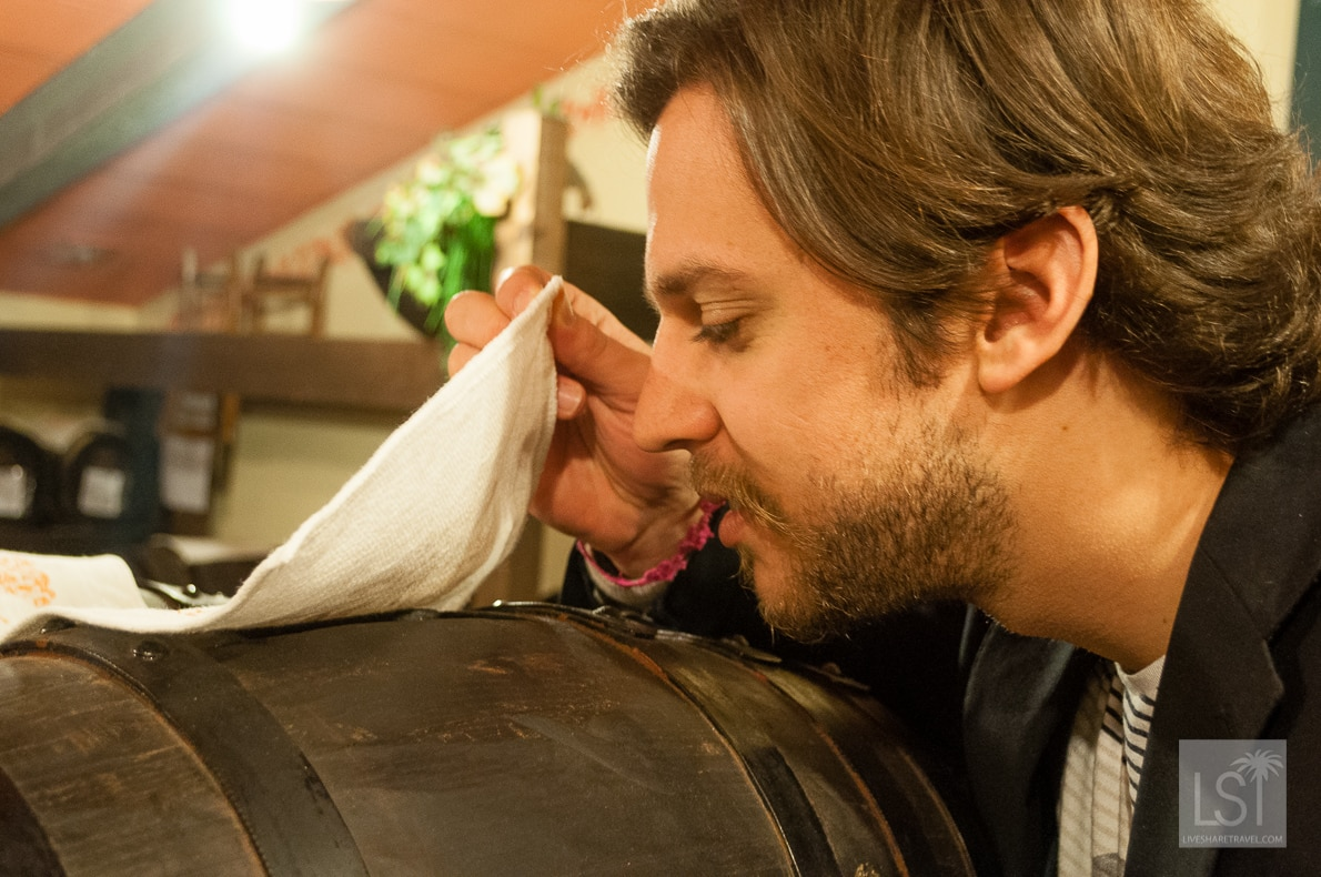 Food in Italy - breathing in the sweet aroma of aged balsamic vinegar