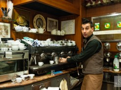 Coffee in Italy: a passion for beans and vintage machines