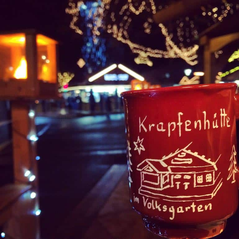 Places to go for Christmas holidays - it's not Austrian Christmas markets time unless there's gluhwein