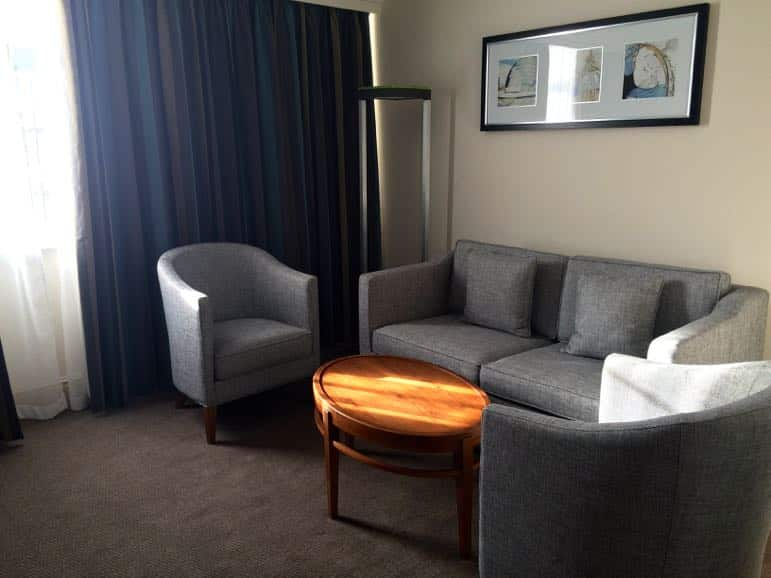 Our deluxe suite at Thistle Hotel Marble Arch