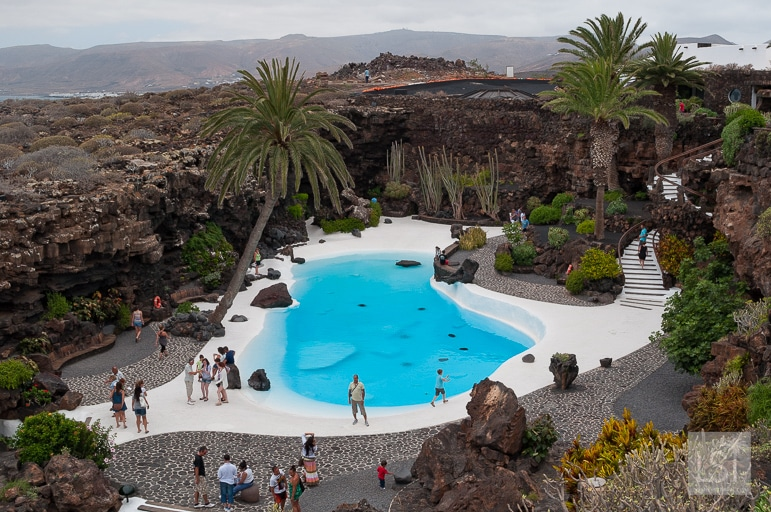 Things to do in Lanzarote - explore one of artist Manrique's built environment artworks