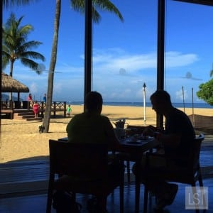 Breakfast for two at one of Sabah's top honeymoon destinations, the Shangri-La Rasa Ria