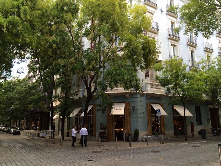 Calle Lagasca in Barrio Salamanca is one of the most popular places for boutique shopping in Madrid