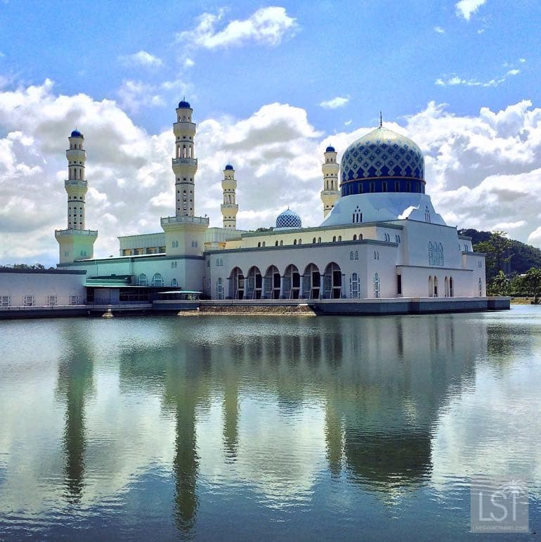 City Mosque in Kota Kinabalu - one of the top honeymoon destinations in Sabah