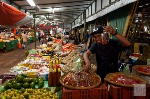 Philippines Market in Kota Kinabalu - one of Sabah's top honeymoon destinations
