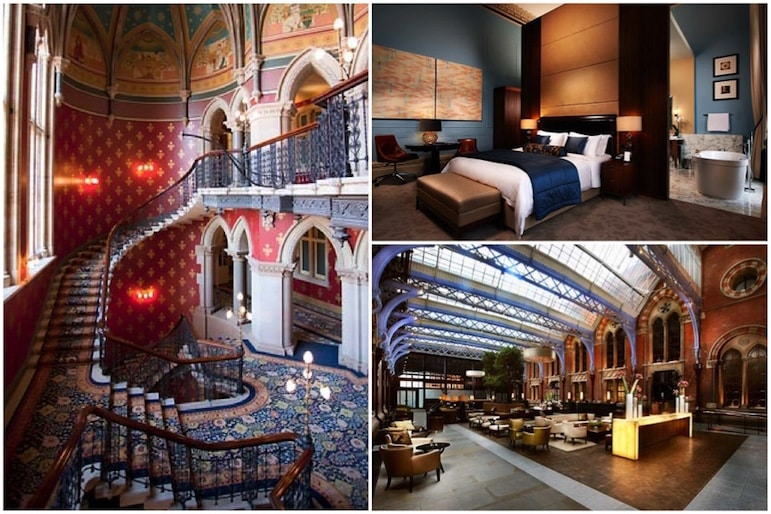Places to stay in London - St Pancras Renaissance Hotel