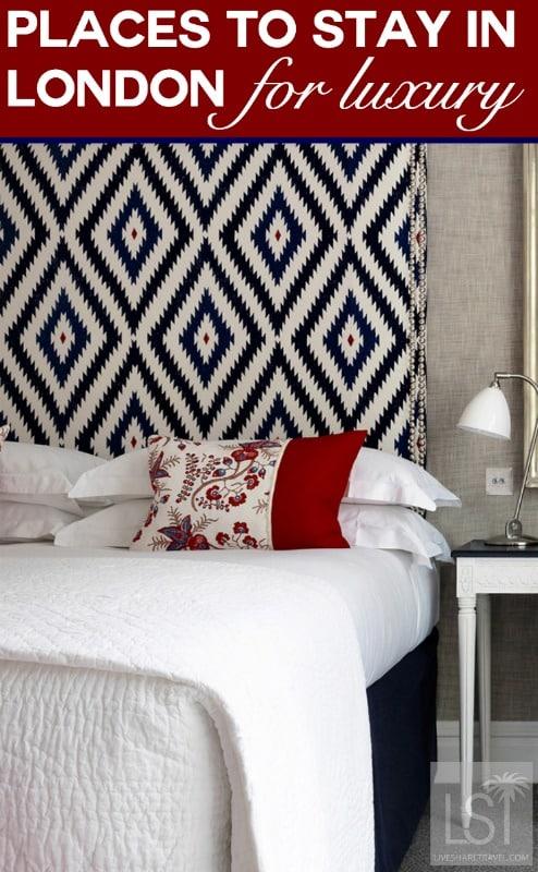 Places to stay in London for a luxury break