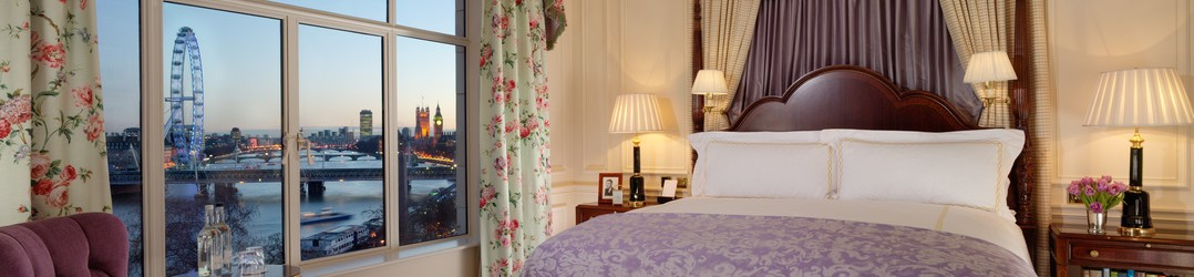 Places to stay in London for a luxury travel break - The Savoy