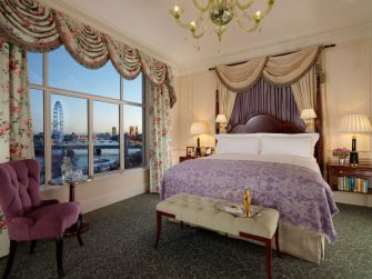 Places to stay in London for a luxury travel break