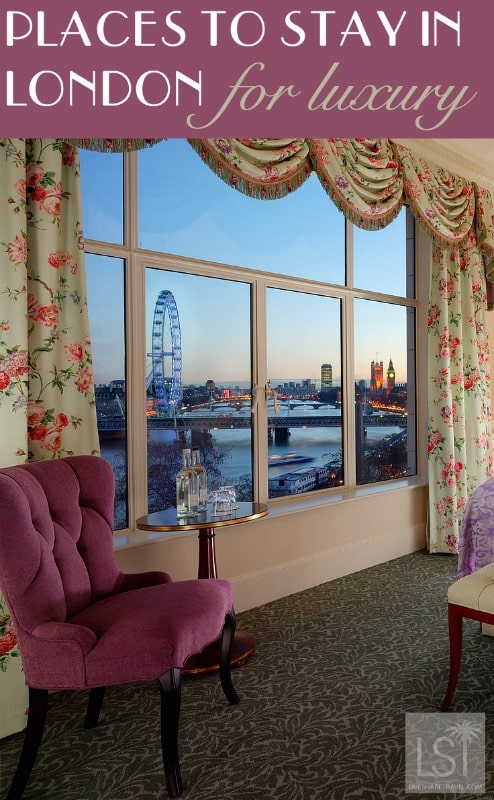 Places to stay in London for luxury