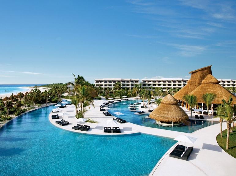 Pool at RCI resort Secrets Maroma Beach