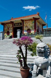 Puh Toh Tze Chinese temple in Kota Kinabalu, one of the world's top honeymoon destinations