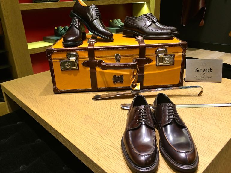 Shopping in Madrid - shoes at Berwick 1707