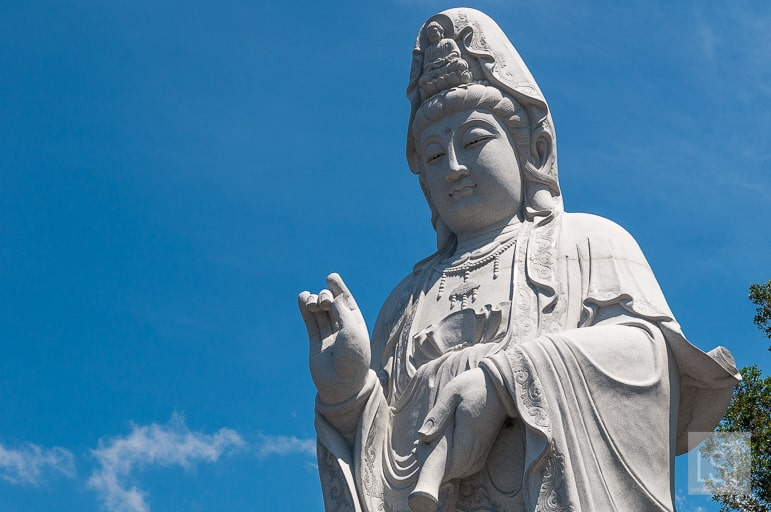 Statue at Puh Toh Tze Chinese temple