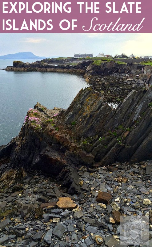 Exploring the Slate Islands in the Scottish Isles