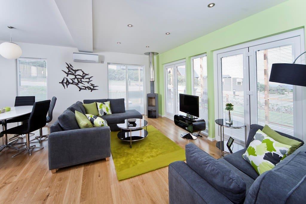 Gwel An Mor Residence living area