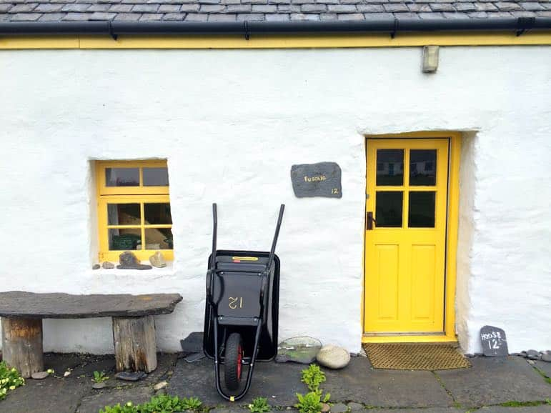 House on Easdale in the Scottish Isles