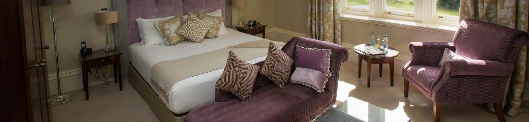 Bedroom at Kentisbury Grange