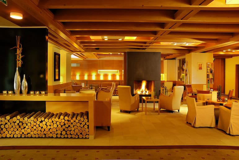 Lobby of Gartenhotel Theresia in Saalbach-Hinterglemm | pic Gartenhotel Theresia