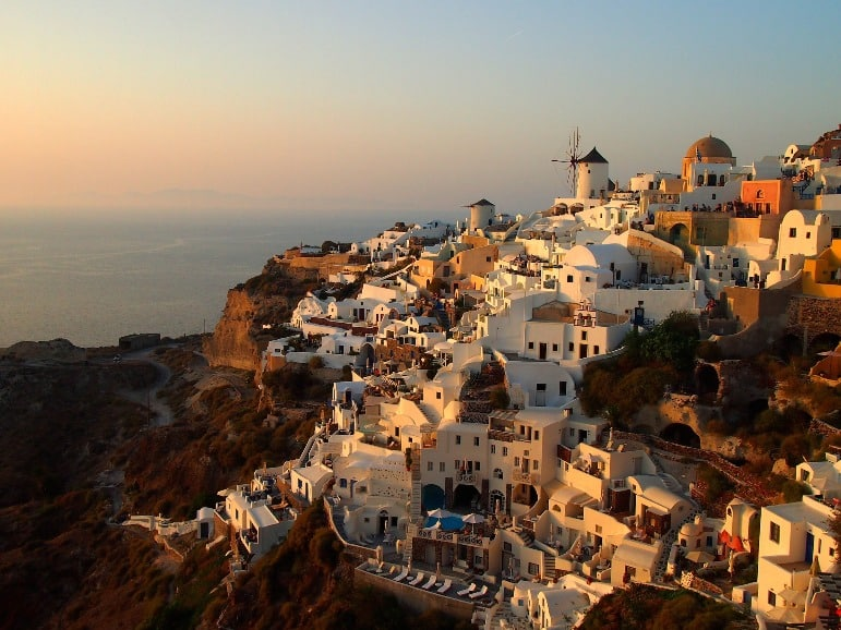 Santorini, one of the most romantic places to go