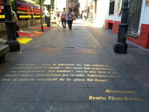 Places to go in Madrid - Madrid's Literary Quarter