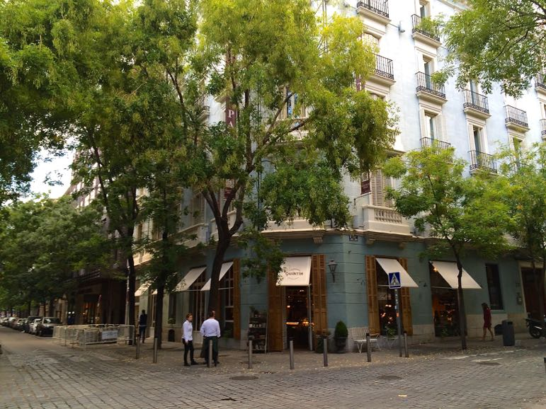 Places to go in Madrid - Salamanca for shopping