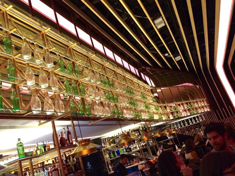 Places to go in Madrid - bar at Platea