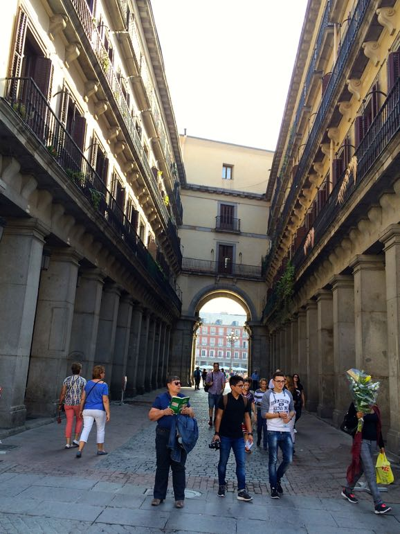 Places to go in Madrid - explore the architecture of the city's squares