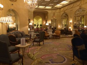 Places to go in Madrid - inside Hotel Ritz