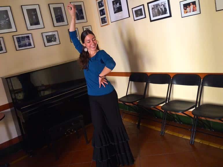 Places to go in Madrid - learn to flamenco at Casa Patios