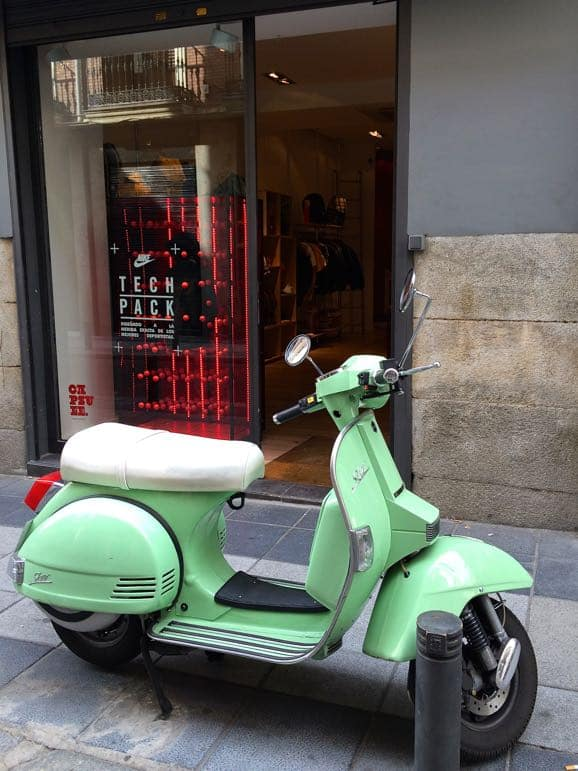 Places to go in Madrid - the trendy San Anton area