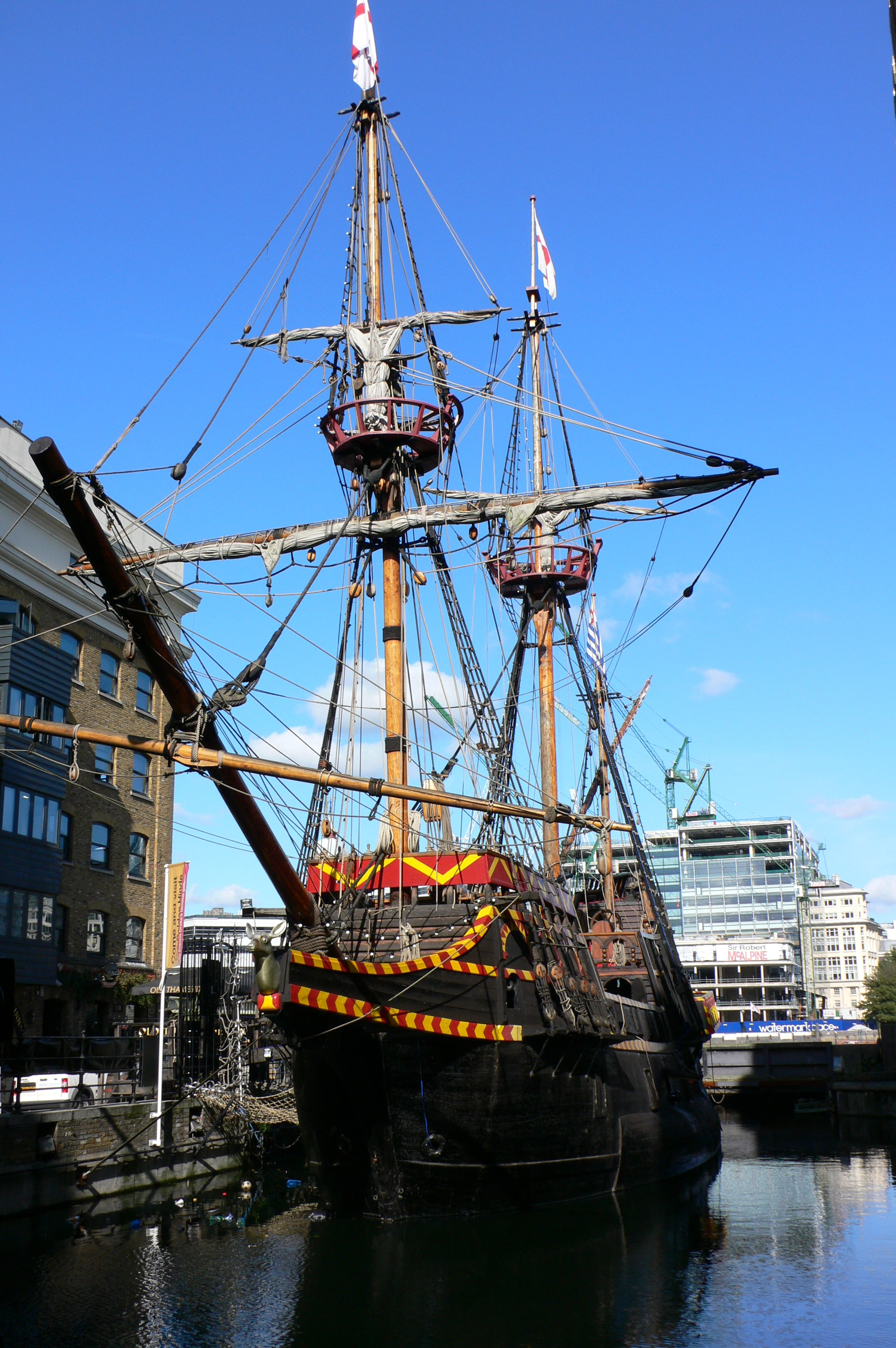 Places to visit in London - the Golden Hinde | pic Heather Cowper