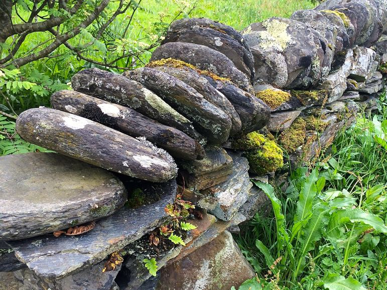 Slate on the Slate Islands, in the Scottish Isles