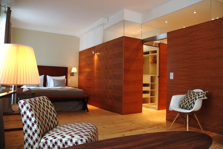 Superior room at the Ausperg Hotel, Salzburg