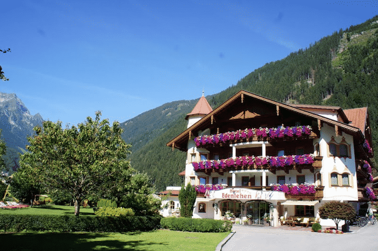 The Edenlehen in Tirol is home to Alpine architecture and fresh produce