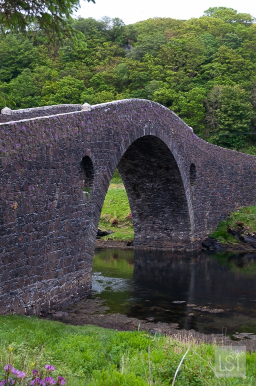 The bridge over the Atlantic, connecting the Scottish Isle of Seil to the mainland