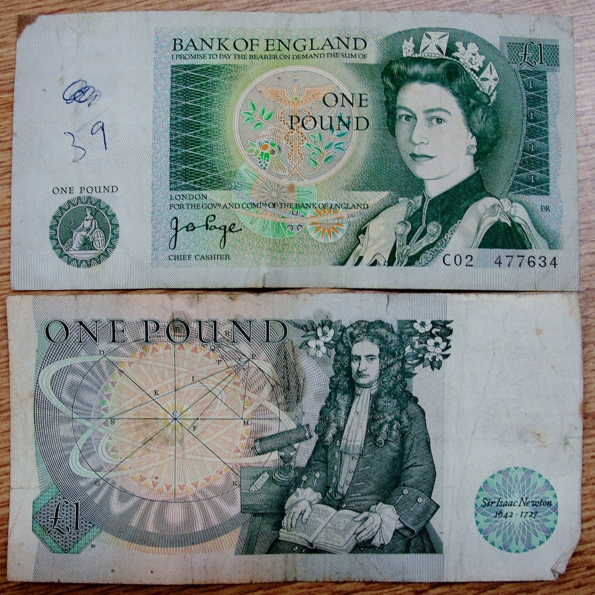 These, for all our young readers, are £1 notes - the Bank of England Museum one of the best places to visit in London | pic Maxwell Hamilton