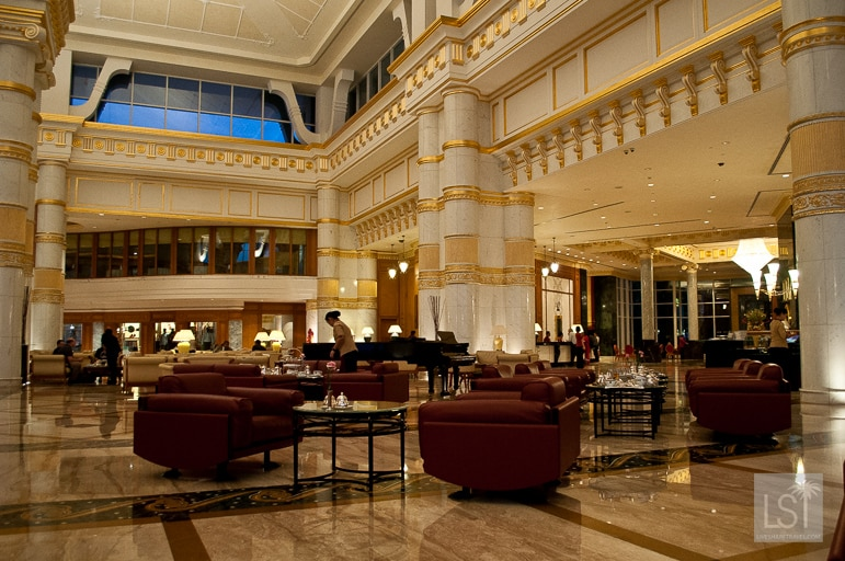 Lobby of The Empire Hotel and Country Club, Brunei
