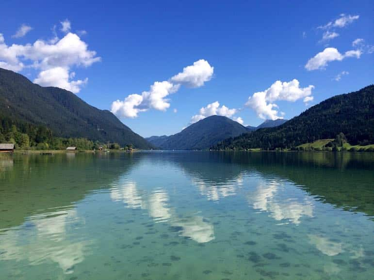 Reflections on Weissensee