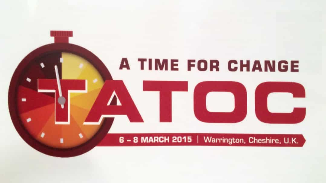 TATOC conference 2015 - a time for change