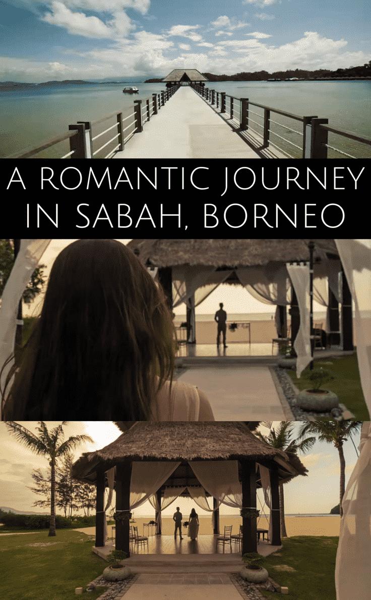A romantic journey across Sabah, in Borneo