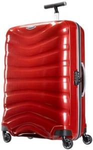 Samsonite Firelite four wheel spinner is a good hand luggage size