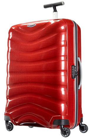 dabf246ab Samsonite Firelite four wheel spinner is a good hand luggage size